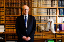 Judge Paul Brereton, whose father Russell Brereton also investigated war crimes.