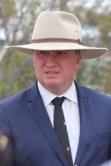 Barnaby Joyce steps down as Deputy Prime Minister.