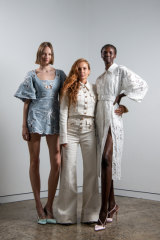 Designer Alice McCall (centre, with models): 'The brand has become really covetable with the Chinese customer, and collectible.'