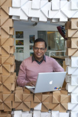 """Google's """"Visionary"""" Amit Singhal."""