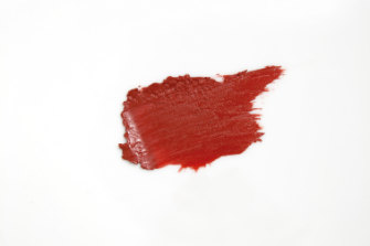 Karen Murrell Natural Lipstick in Fiery Ruby, $21.
