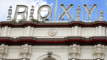 The ornate Spanish-style Roxy Theatre building is slated for restoration and development.