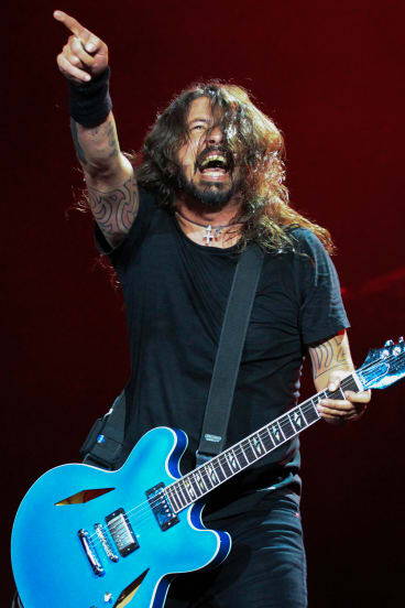Grohl had the stadium in his hands.