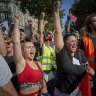 Anger as protesters compare vaccines to Nazi horrors in France