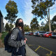 John Monash Science School studentHannah Singh, 17, is one of thousands of VCE students who had what might be their last day of class on campus on Monday, as they prepare to return to remote learning from Wednesday.