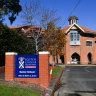 Scotch College in Hawthorn.