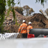 West Gate Tunnel in limbo as government, companies argue over contaminated soil