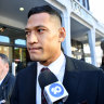 Folau denies agreeing to limit comments on social media