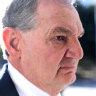 Paul Pisasale taken to hospital after injury in Queensland jail
