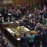 British politics' breakdown: Leak forces Parliament's evacuation