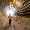 Metro Tunnel making 'real progress' as Meg starts nine-kilometre dig