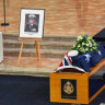 'Gold standard': Revered police chief Mick Miller remembered at Victoria Police funeral