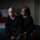 Garry Keeping, pictured with his wife Kamal, was diagnosed with COVID on July 18. Three months later he is still experiencing lingering effects, including hand tremors, forgetfulness and fatigue.