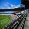 AFL expects small capped crowds after Victoria's lockdown