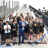 $54m for two footbridges within several hundred metres of each other