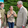 Prince Charles champions the Reef and samples some rum