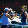 Ice revives Muchova as Barty goes cold