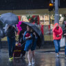 Severe weather warning issued as torrential rain lashes Sydney