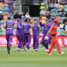 Hurricanes cruise to victory over Melbourne Renegades