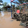 Flood warnings for drought regions after wet weekend in south Queensland