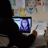 Class time becomes screen time as schools become homework