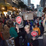 Protests to continue as Adani gets to work