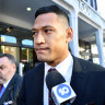 Folau caught in fresh legal drama as Tongan officials head to court