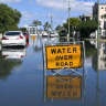 Streets flood as Cyclone Oma approaches south-east Queensland