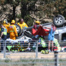 Two die in separate smashes in Victoria's west