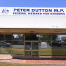 Bomb squad called to Peter Dutton's office north of Brisbane