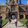 The University of Sydney derived more than 35 per cent of its revenue from international student fees in 2018.