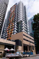 The two-tower project known as Imperial in Parramatta's CBD contains 179 apartments.