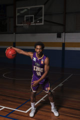 Basketball player Casper Ware, who plays for the Sydney Kings.