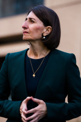 Gladys Berejiklian has an approval rating of 63 per cent after her handling of the pandemic.