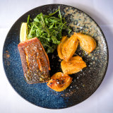 The salmon at South Yarra's Cucinetta.