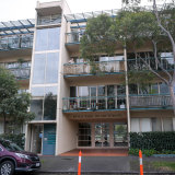 A Southbank apartment complex caught up in COVID infections in June.