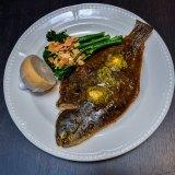 Chancery Lane's whole flounder with Cafe de Paris butter.