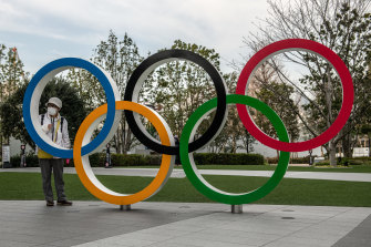 The Tokyo Olympics have been postponed until 2021.