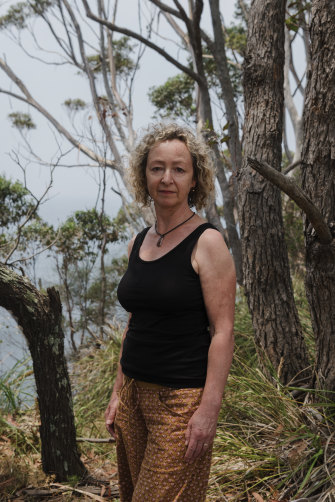 Penny Lovelock lost her home during the bushfires.