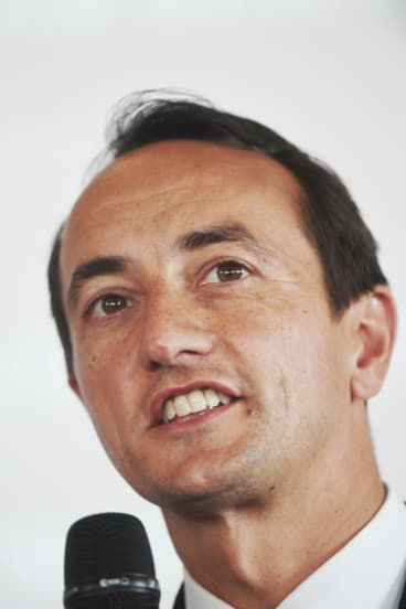 Liberal candidate for the Sydney seat of Wentworth Dave Sharma.