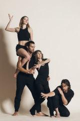 Sydney Dance Company dancers Mia Thompson and Dimitri Kleioris and alumni Sheree da Costa and Kip Gamblin will star in Us 50.