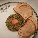 Mayfair's steak tartare.