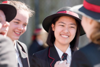 Wendy Lin, from Queenwood, received the top score of 45 in her InternationalBaccalaureate Diploma.