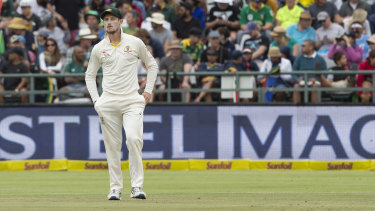 Bancroft was seen to hide the object down the front of his underpants before walking over to the umpires.