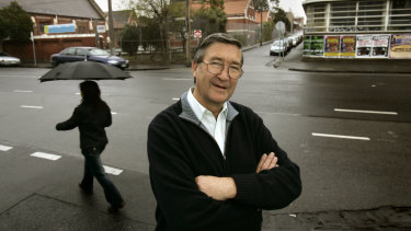 Father Ernie Smith pictured in 2005.
