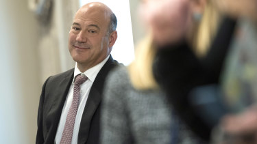 Gary Cohn is leaving his post.