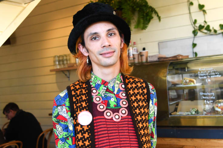 Cafe worker Marc Dean is unusual in that he is paid full award wages.
