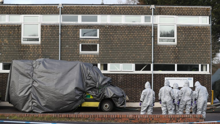 The latest death of a Russian exile in the UK follows nerve gas attacks on former Russian spy Sergei Skripal and his daughter in Salisbury last week.