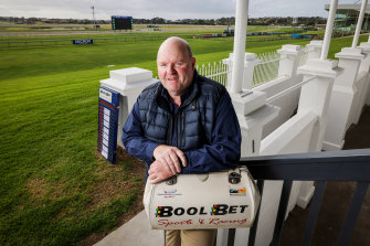Mark Attrill will be one of more than two dozen bookies welcome back to Warrnambool.