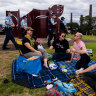 Anti-lockdown protests fizzle out in Sydney as state embraces rainy picnics